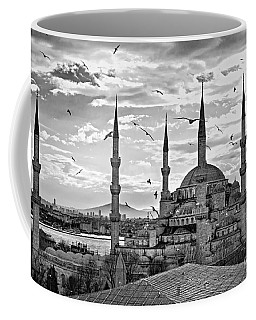 The Blue Mosque - Istanbul Coffee Mug by Luciano Mortula