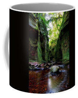 The Devil Pulpit At Finnich Glen Coffee Mug