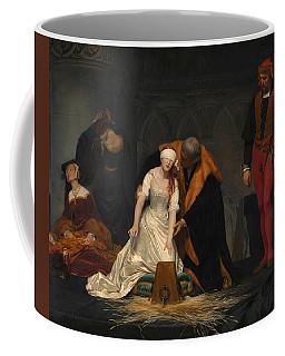 The Execution Of Lady Jane Grey Coffee Mug