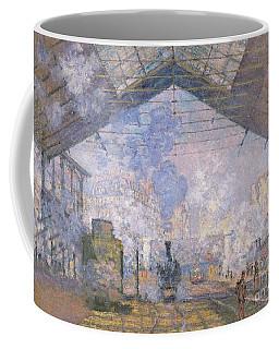 The Gare St Lazare Coffee Mug