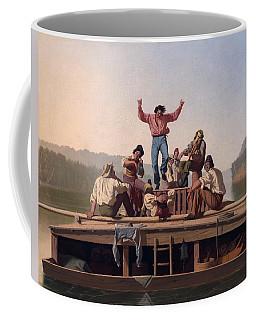 The Jolly Flatboatmen Coffee Mug