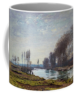The Petit Bras Of The Seine At Argenteuil Coffee Mug