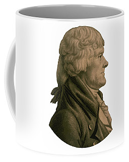 Thomas Jefferson Profile Coffee Mug