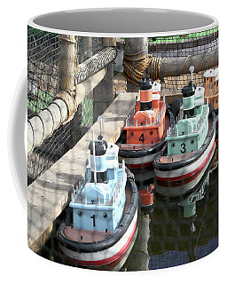 4 Toy Boats Coffee Mug