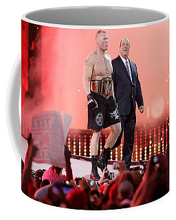 Wrestling Coffee Mug