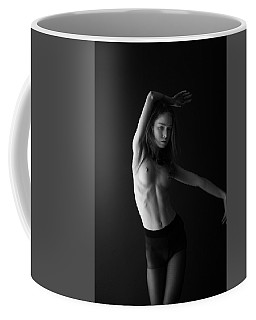 Young Woman In Pantyhose  Coffee Mug