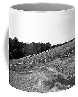 Coffee Mug featuring the photograph 40 Acre Rock 10 B W by Joseph C Hinson Photography
