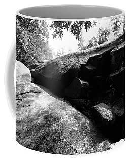 Coffee Mug featuring the photograph 40 Acre Rock 14 B W 1 by Joseph C Hinson Photography
