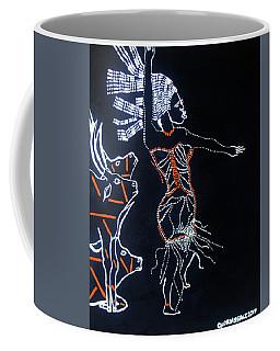 Dinka Lady - South Sudan Coffee Mug by Gloria Ssali
