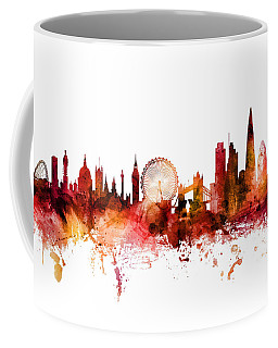 London England Skyline Coffee Mug