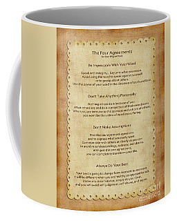 41- The Four Agreements Coffee Mug