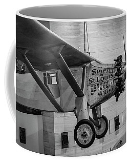 4273- Air And Space Museum Black And White Coffee Mug