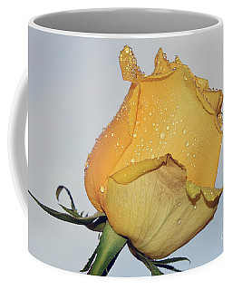 Coffee Mug featuring the photograph Yellow Rose by Elvira Ladocki