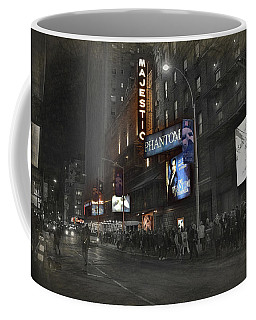 44th Street Nyc Coffee Mug