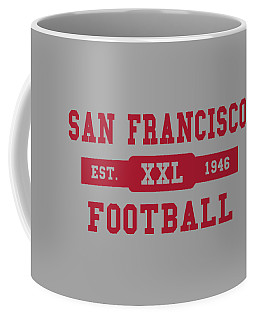 49ers Retro Shirt Coffee Mug