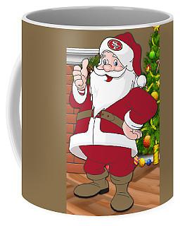 49ers Santa Claus Coffee Mug