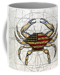 4th Of July Crab Coffee Mug