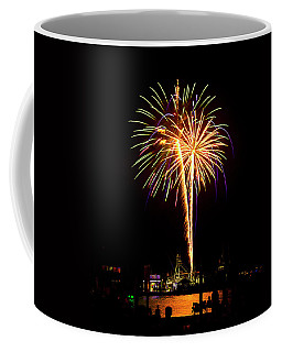 Coffee Mug featuring the photograph 4th Of July Fireworks by Bill Barber