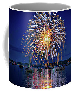 Coffee Mug featuring the photograph 4th Of July Fireworks by Rick Berk