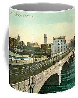 4th Street Bridge Waterloo Iowa Coffee Mug