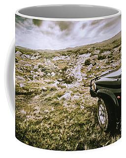 4wd On Offroad Track Coffee Mug