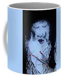 Coffee Mug featuring the painting African Queen by Gloria Ssali
