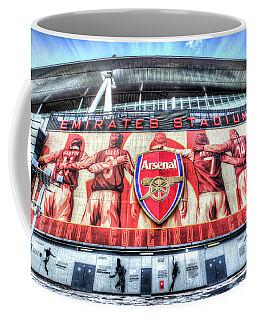 Arsenal Fc Emirates Stadium London Coffee Mug