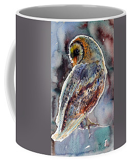 Barn Owl Coffee Mug by Kovacs Anna Brigitta