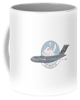 Coffee Mug featuring the digital art Boeing C-17 Globemaster IIi by Arthur Eggers