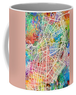 Cali Colombia City Map Coffee Mug