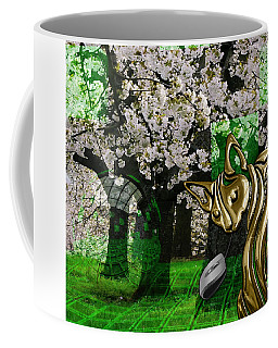 Cat And Mouse Art Collection Coffee Mug