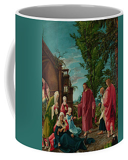 Christ Taking Leave Of His Mother Coffee Mug