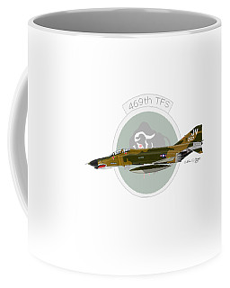 F-4e Phantom II Coffee Mug by Arthur Eggers