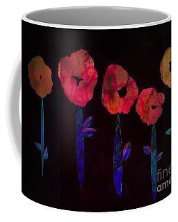 5 Flowers Coffee Mug
