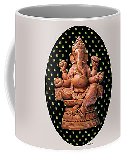 Ganesha Coffee Mug by Suhas Tavkar