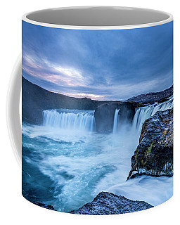 Godafoss Waterfall In Iceland Coffee Mug