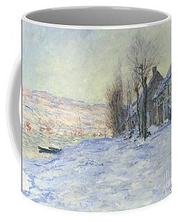Lavacourt Under Snow Coffee Mug