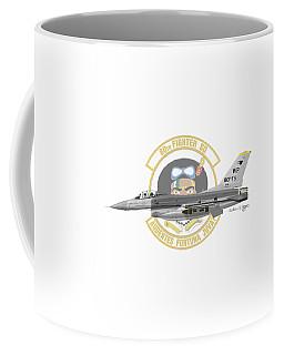 Lockheed Martin F-16c Viper Coffee Mug