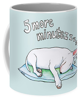5 More Minutes Coffee Mug