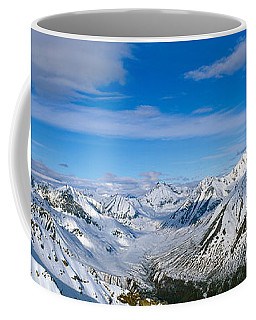 Mountains And Glaciers In Wrangell-st Coffee Mug