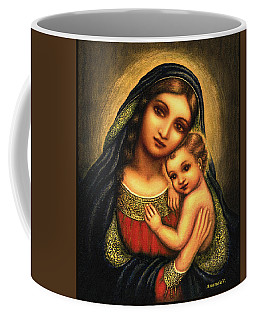 Oval Madonna Coffee Mug