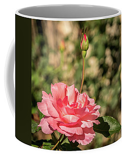 Pink Rose Coffee Mug by Jane Luxton