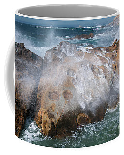 Point Lobos Concretions Coffee Mug by Glenn Franco Simmons