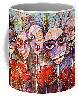 5 Poppies For The Dead Coffee Mug
