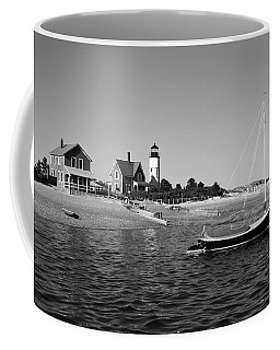 Coffee Mug featuring the photograph Sandy Neck Lighthouse by Charles Harden