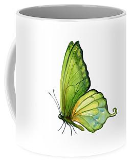 5 Sap Green Butterfly Coffee Mug
