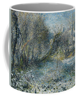 Snow-covered Landscape Coffee Mug
