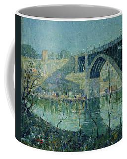 Spring Night, Harlem River Coffee Mug