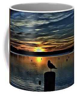 Sunrise Onset Pier Coffee Mug
