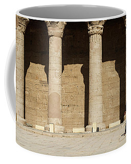 Coffee Mug featuring the photograph Temple Of Isis by Silvia Bruno